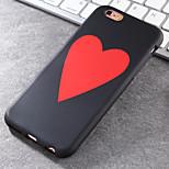 la caja del teléfono tendencia nuevo material TPU modelo de los corazones bien de la manera perfecta fresco para el iphone 6 / 6s