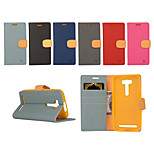 Yi Cai Card Holder Leather Belt Around Open for Asus ZE 550KL(Assorted Colors)
