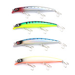 Mizugiwa Lure Body Top Water Popper Pencil Hard Bait Fresh Water Shallow Bass Walleye Crappie Minnow 13g 120mm