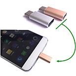 USB 3.1 Typ-C-Daten-Synchronisierungs-Ladeadapter-Konverter-Anschluss für Nokia n1 / LeTV einer / pro / xiaomi mi4c für oneplus2
