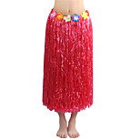 80cm Adults' Fire-Proof Double Layers Hawaiian Carnival Hula Dress Only Waist Elastic