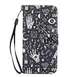 Confusion Pattern PU Leather Full Body Case with Stand for iPhone 6S