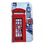 Telephone booth Pattern Cell Phone Leather For iPhone 6/6S