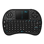 rii i8 mini-2.4ghz teclado touchpad wireless com o mouse para PC, Google Android caixa de TV, htpc, IPTV