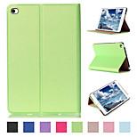 Steinmuster PU-Leder Tablet Schutzhülle für Apple iPad Mini 4 (farbig sortiert)