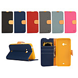 Yi Cai Gyrosigma PU Leather Card Holder Leather Belt Around Open for Nokia LumiaN540/N640(Assorted Colors)