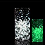 aztec mandalapatroon glow in the dark hard plastic achterkant voor de iPhone 5 voor iPhone 5s case