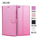 ASLING Protective Flip-Open PU Leather Case Full Body Credit Card Holder Slots Luxury Cell Phone Bag For Xiaomi Note
