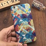 Fashion Grid Pattern Case Luminous Glow in the Dark Protective Phone Back Cover Case for iPhone 6 / 6S