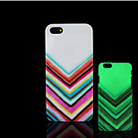 Aztec Pattern Glow in the Dark Hard Plastic Back Cover for iPhone 5 for iPhone 5s Case