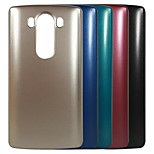 Top Grade Plating Metal Surface Design PC Stiff Case for LG G3