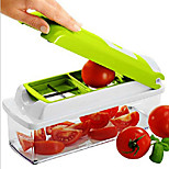 12 Sets Multi-Function Stainless Steel Kitchen Tool Shredder Salad Machine
