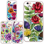 MAYCARI®Flowers Blossoming Soft Transparent TPU Back Case for iPhone 6/iphone 6S(Assorted Colos)