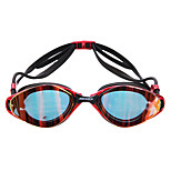 MESUCA Swimming Goggles Anti-Fog Waterproof Adjustable Size Silica Gel PC Pink Black Blue Pink Black Blue
