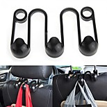 ZIQIAO® Car Auto Seat Headrest Hanger Hook Holder Luggage Organizer ABS New Hot