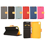 Yi Cai Card Holder Leather Belt Around Open for HTC D820 (Assorted Colors)