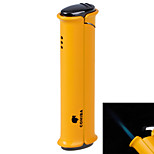 5522 One Hole Blue Fire Windproof Torch -Yellow, Black