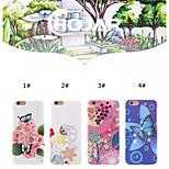 Garden Landscape Ornate Relief Four Kinds of Mobile Phone Shell for Iphone 6/6S