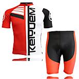 Set di vestiti/Completi - Ciclismo - unisex - Maniche corte -Impermeabile / Traspirante / Isolato / Asciugatura rapida / Anti-pioggia /