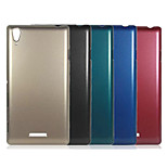 Plating Metal Surface Design PC Stiff Case for Sony Xperia Z1 XL39h(Assorted Color)