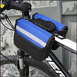 SOLOMO®Bike Frame Bag Cycling/Bike For All Phones (Wearable / Multifunctional / Red / Black / Blue /600D/18*15*5.5Cm)