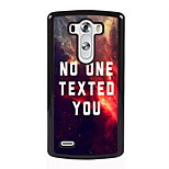 No One Texted You Design Metal Hard Case for LG L90/ G3/ G4