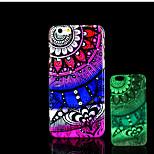 aztec mandalapatroon glow in the dark hard plastic achterkant voor de iPhone 6 voor iPhone 6s case