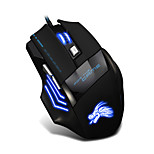 USB Wired  Gaming Mouse 6 Button LED Optical  games Mouse For Gamer