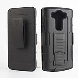 2 in 1 design case Hard Plastic Skin+Soft Outer Silicone Case for LG V10