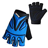 3MM Silicone Gel Anti-slip Summer Mesh Breathable Men Cycling Bicycle Bike Gloves Half Finger