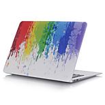 nuevo colorido gradiente caja de plástico de todo el cuerpo para el aire del macbook 11