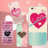 MAYCARI®Heartbeat Soft Transparent TPU Back Case for iPhone 6/iphone 6S(Assorted Colos)