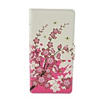 Plum blossom Pattern Flip Leather Case For iPhone 6/6S Cover Bags