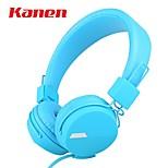 kanen ip-852 auricular auricular bajo estupendo estéreo de auriculares diadema para las tabletas de teléfonos inteligentes de ordenador PC
