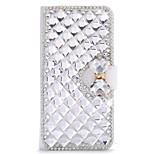 Luxury Bling Crystal & Diamond Leather Flip Bag For LG G4 (Assorted Colors)
