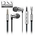 GGMM Alauda Lightweight Metal Housing In-ear Earphone with Mic,Volume Control and Patented Sport Eartips for Perfect Fit