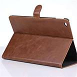 caso bussiness color sólido de la PU de cuero de auto del sueño / funda folio con soporte para iPad pro