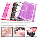 1Pcs Rectangle Lace Pad Nail Manicure Nail Art tools (Color Random)