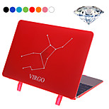 Virgo Style Protective PC Hard Case Cover with Swarovski Crystal Diamond / Stand for Macbook Retina 12