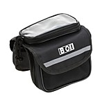 Cycling Phone Touch Screen Pouch Pannier Bicycle Front Tube Bag Double