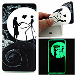 Moon lovers Pattern TPU Luminous Phone Case For Nokia Lumia 540