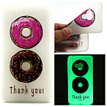 Color Ring Pattern TPU Luminous Phone Case For Nokia Lumia 540