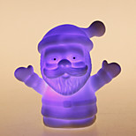 Colorful Santa Claus Shaped Night LED Light