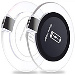 Qi Portable Wireless Charger for Samsung Galaxy S6/S6 Edge/S6 Edge Plus/Note 4/5/LG G3/G4/Nokia Lumia 920/Nexus 5