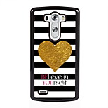 Believe in Yourself Design Metal Hard Case for LG L90/ G3/ G4