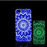 mandalapatroon glow in the dark hard plastic achterkant voor de iPhone 5 voor iPhone 5s case