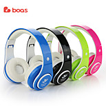BOAS Bluetooth Headphones Earphone Stereo Foldable Headset TF Card with Microphone for iPhone 6s Plus Galaxy HTC