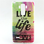 Live Pattern TPU Soft Case for LG G4 Stylus