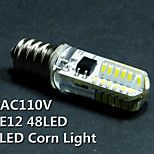 5PCS, E12,2W, 110V, LED corn lights, lights, crystal lights, a mechanical indicator, LED bulb, chandelier