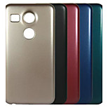 Deluxe Electroplating PC Material Phone Case for LG Nexus 5X(Assorted Color)